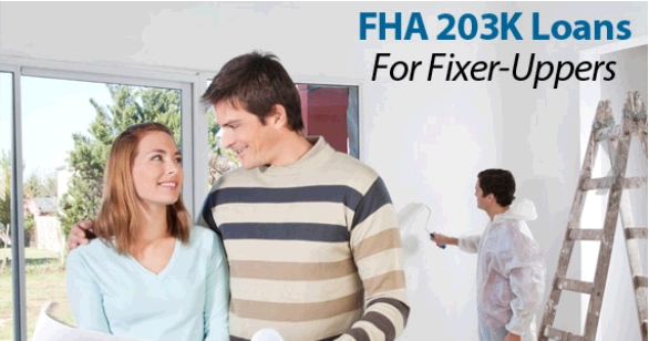 FHA 203k streamline rehab loan mn